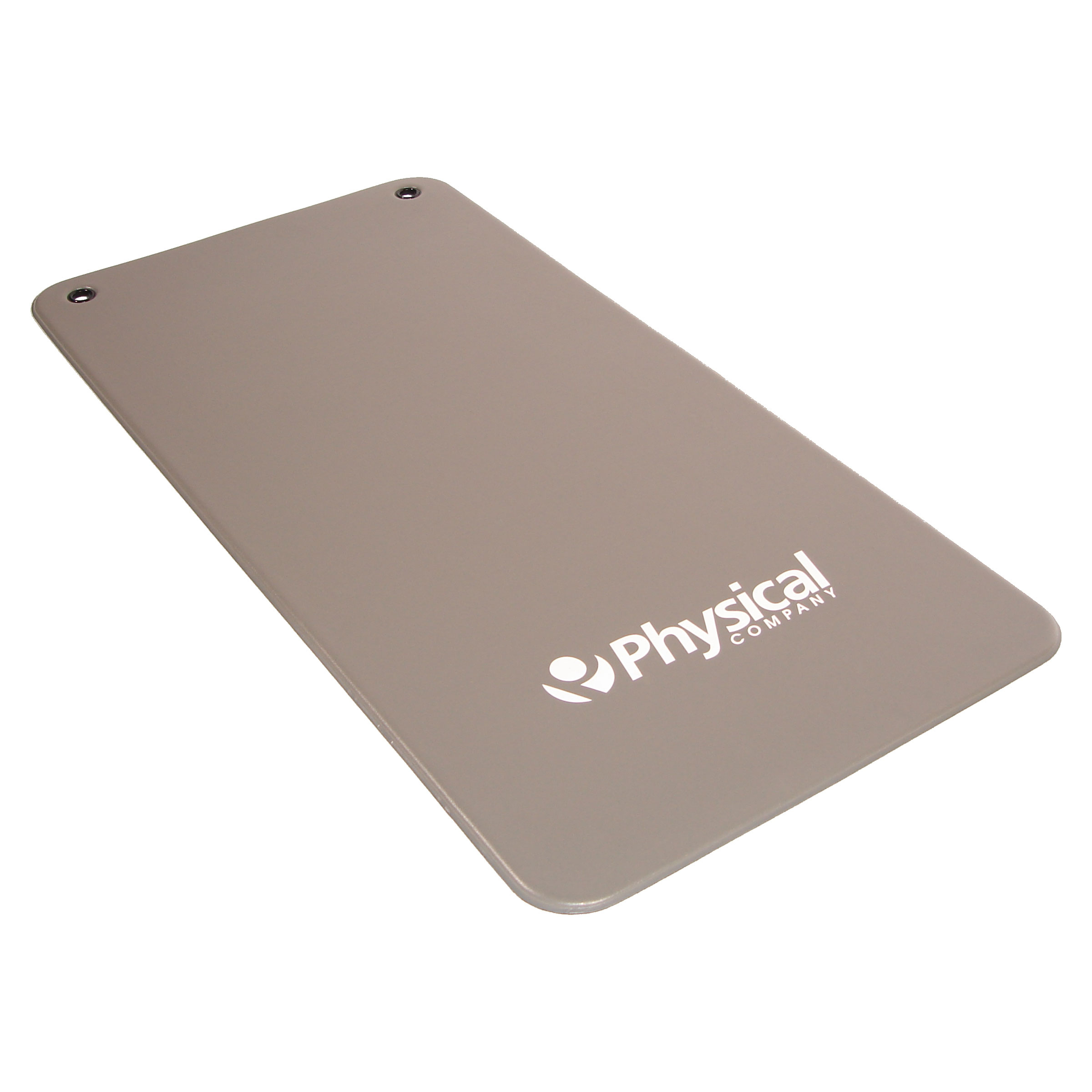 9.5mm Vinyl Exercise Mat - Grey (With Eyelets)