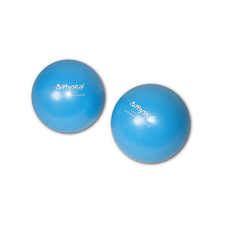 Weighted Soft Pilates Ball (2 x 1.5kg)