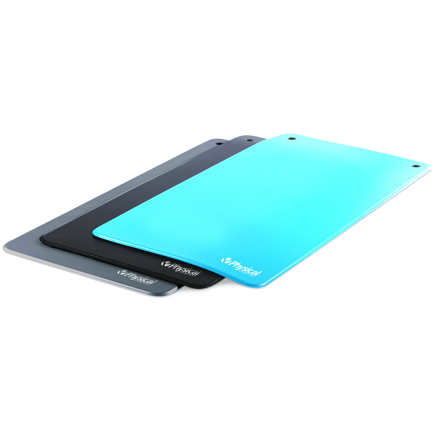 9.5mm Vinyl Exercise Mat - Blue (With Eyelets)