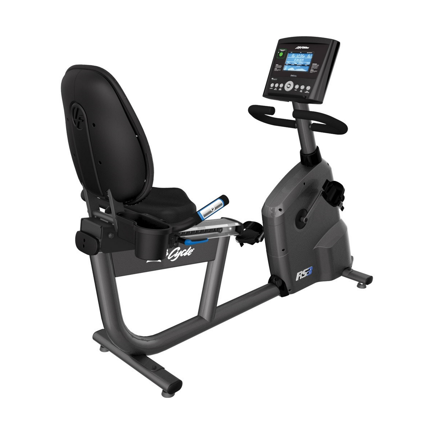 Life Fitness RS3 LifeCycle Recumbent Bike (Go Console)
