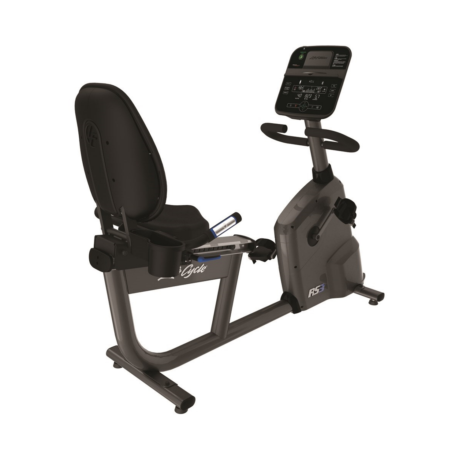 Life Fitness RS3 LifeCycle Recumbent Bike (Track+ Console)